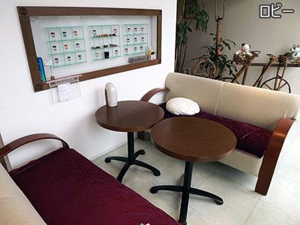 業務用芳香機エアーフローラ―設置例ロビー