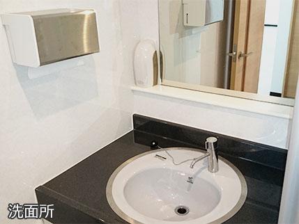 業務用芳香機エアーフローラ―設置例洗面所